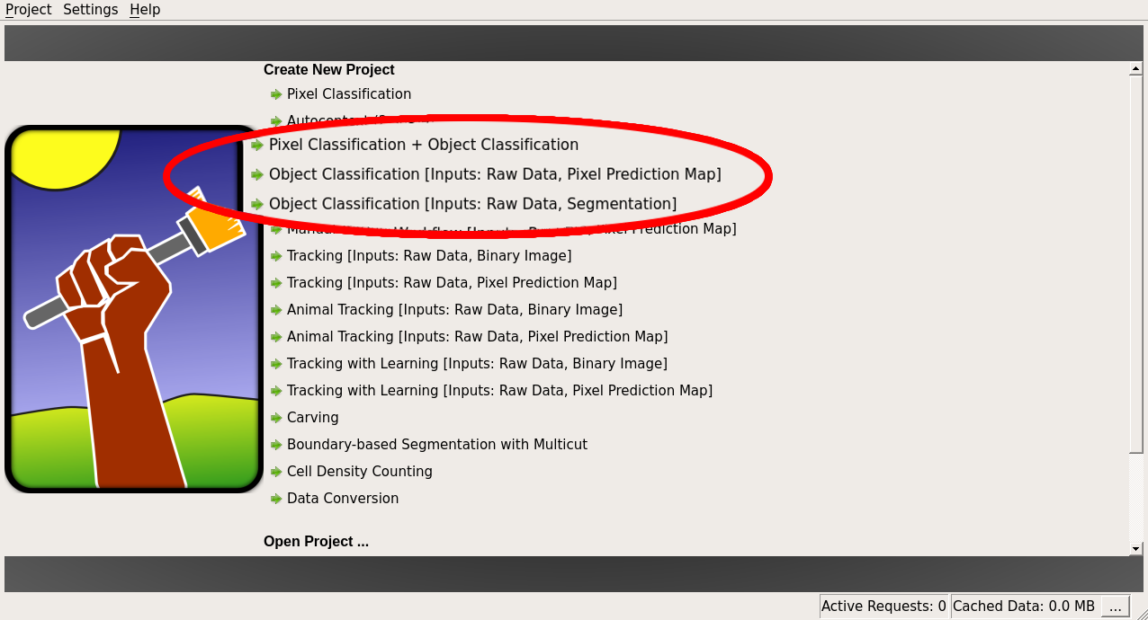 ilastik - Object Classification